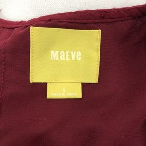 Maeve Tops - Anthropologie Maeve Pia Clipdot Top Size 0